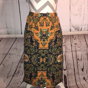 Chelsea & Theodore patterned skirt